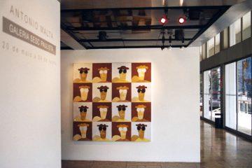 Antonio Malta. Galeria Virgilio, 2007. São Paulo